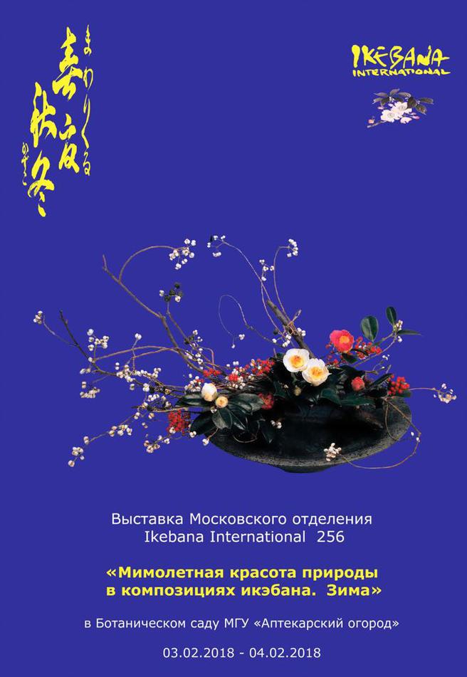 Выставка икебаны с мастер-классами пройдёт в «Аптекарском огороде» с 3 по 4 февраля