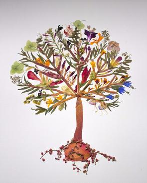 Древо жизни из роз и орхидей научат делать 5 октября в «Аптекарском огороде»
