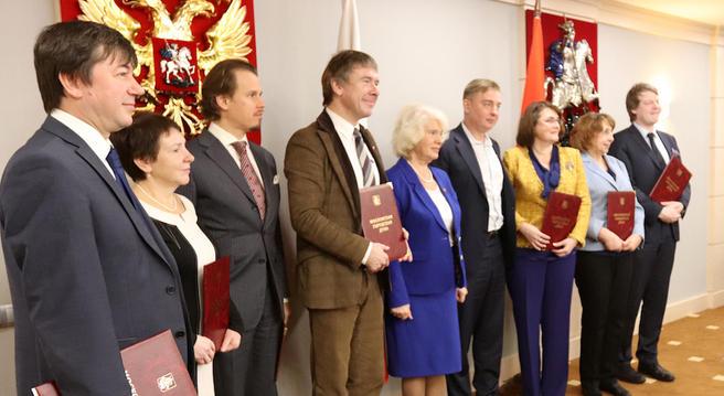 За активную деятельность в Год экологии директор «Аптекарского огорода» удостоился грамоты Мосгордумы