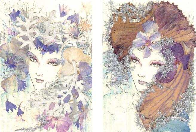 Новогодние открытки из цветов научат делать в «Аптекарском огороде» с 7 декабря