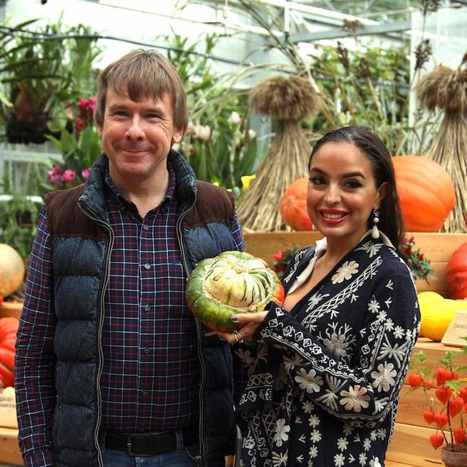 Дочь президента Азербайджана Лейла Алиева посетила «Аптекарский огород» 14 сентября